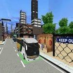 City Coach Bus Passenger Driving :Bus Parking 2021