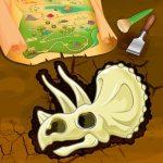 Dinasaur Bone Digging Game