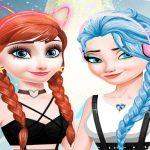 elsa and anna Dress Up Makeup
