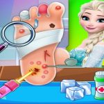 Elsa Foot Doctor Clinic : Frozen  Surgery Hospital