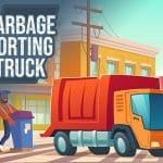 Garbage Sorting Truck