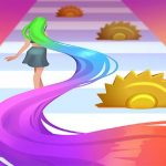 Hair Challenge 3D game