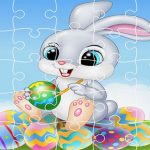 Happy Easter Jigsaw