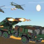 Jeu De Conduite De Camion D'Attaque De Missiles