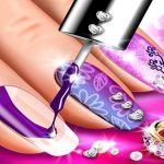 Nail Salon Art Makeover: Manicure Design Game