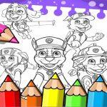 Paw Patrol Coloring Book