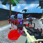 Pixel blocky Combat The SandStorm