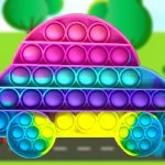 Pop It Vehicles Jigsaw