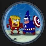 spongebob iron