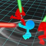 Stickman Neon Warriors: Sword Fighting