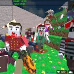 Survival shooting blocky combat: pixel gun apocaly