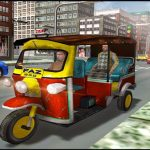 Tourist Transport Taxi: Tuk Tuk Driving Simulator