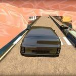 Train vs Super Car Racing Game